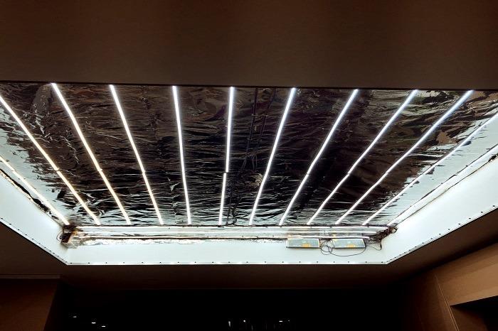 نمونه کار سقف کشسان نوسادکور